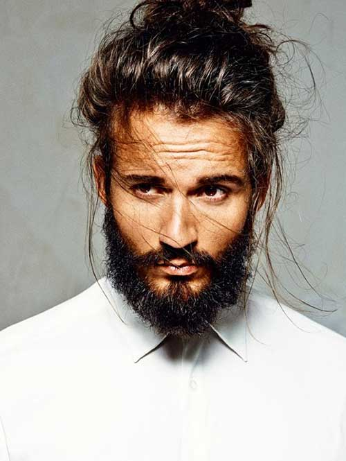 Men Long Hair Styles 2015