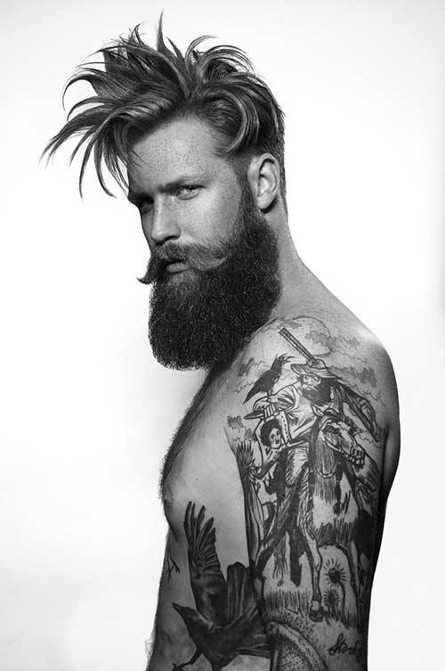 Men Long Top Hairstyles Pics