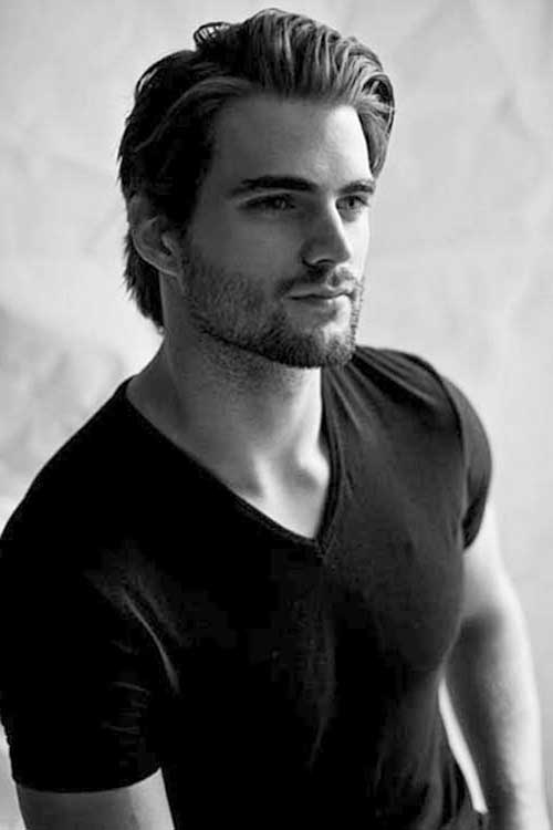 Hairstyles For Men With Medium Hair : Pics Of Mens Medium Hairstyles - Best Hairstyles 2017