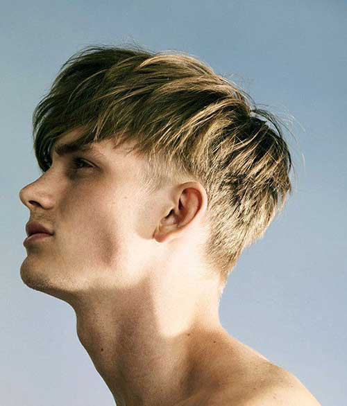 Best Men Medium Hairstyles Short Sides