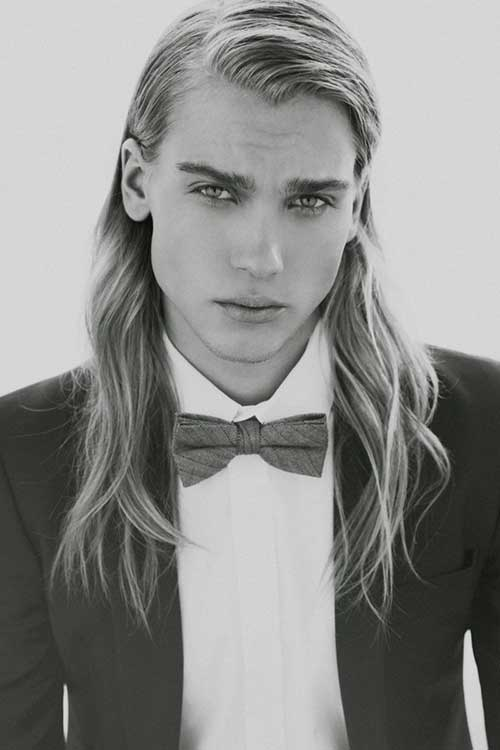 Men Straight Long Hair Styles