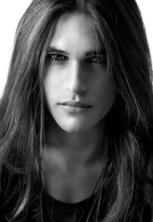 Men Thick Long Hair Styles