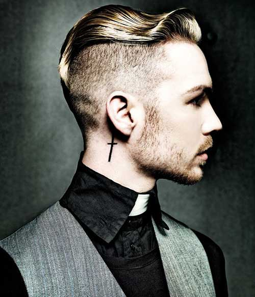 Men Undercut Hair 2016