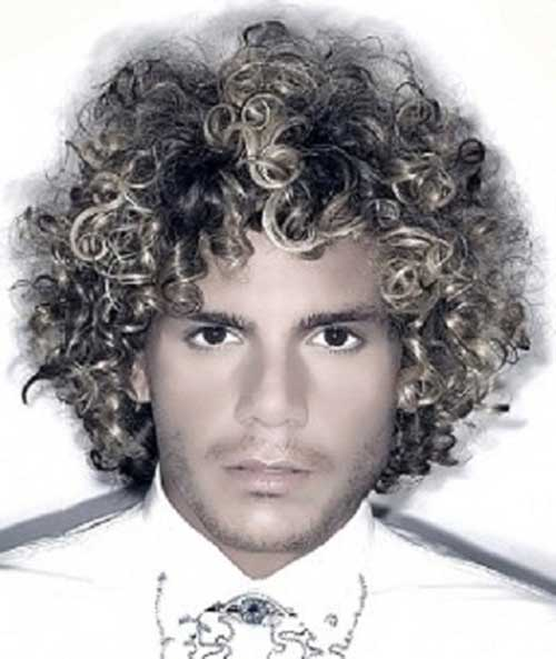 Best Mens Afro Look Hairstyles for Thick Curly Hair