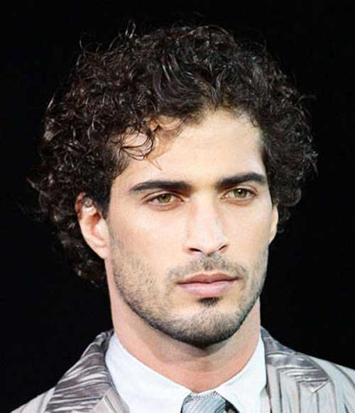 Admirable 10 Mens Hairstyles For Thick Curly Hair Mens Hairstyles 2016 Hairstyles For Women Draintrainus