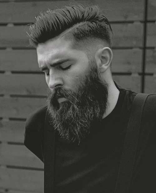 Awesome Mens Faded Side Haircuts
