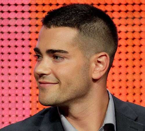 Mens Buzz Cut Fades Hairstyles