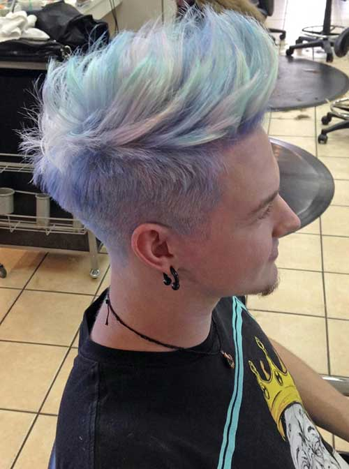 Mens Grey Hairstyles 2016