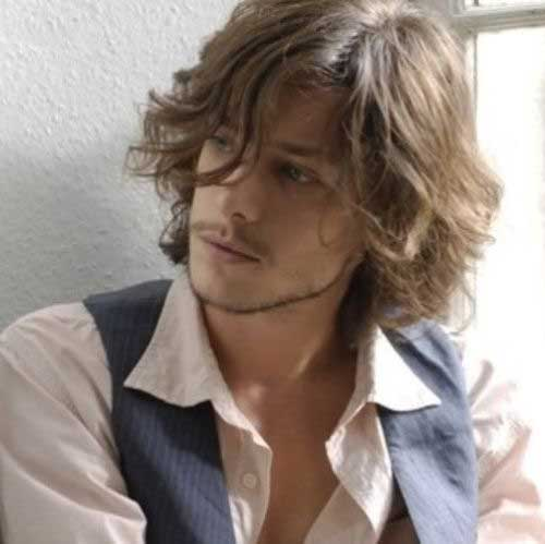 Mens Long Haircuts for Wavy Hair 2016