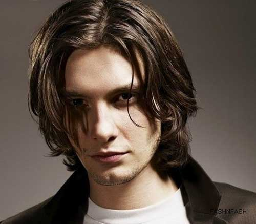 Long Shaggy Hairstyles Men Photos