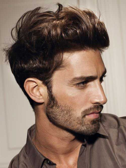 Popular Mens Messy Haircut 2015