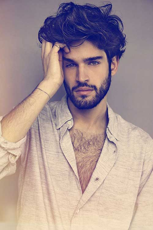 Mens Messy Thick Hairstyles