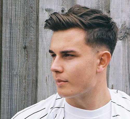 Mens Popular Fade Haircut 2015