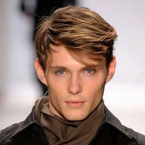 Mens Popular Medium Haircut 2015