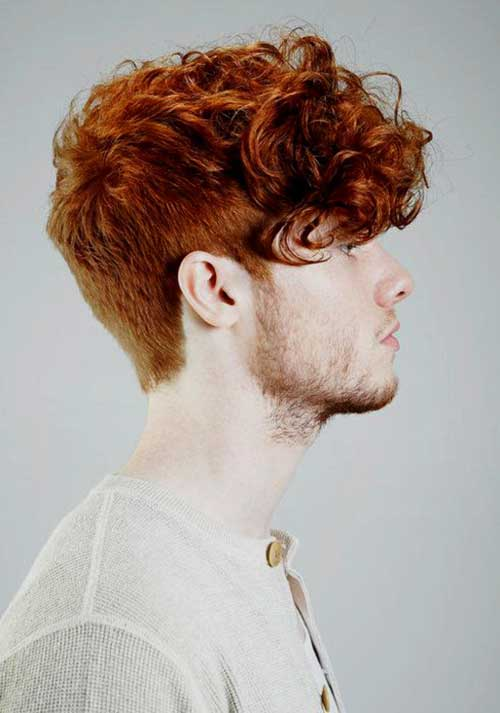 Mens Red Curly Hair Colors 2014
