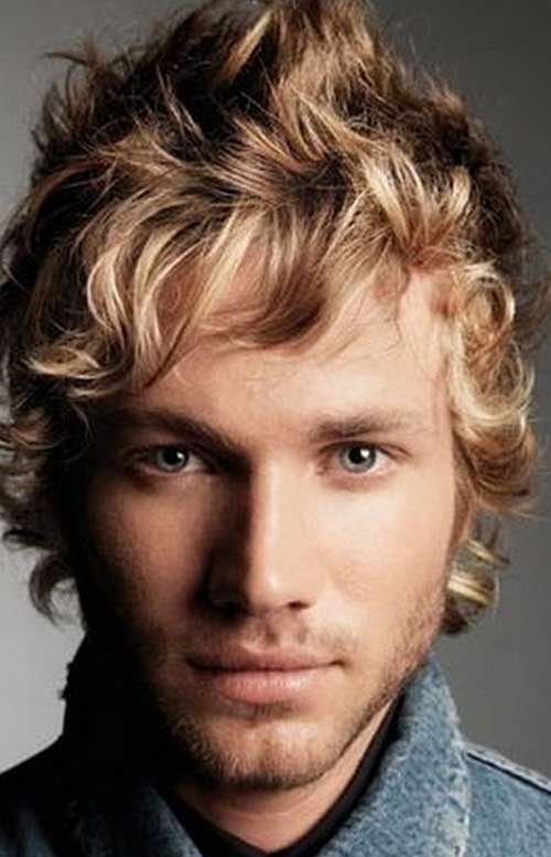 Mens Shaggy Wavy Hairstyles