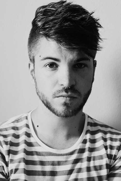 Superb 10 Mens Shaved Side Hairstyles Mens Hairstyles 2016 Short Hairstyles Gunalazisus