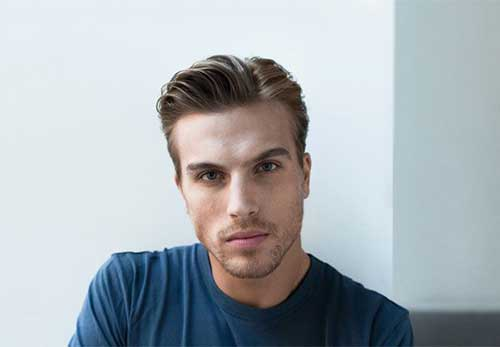 Men's Side Part Hair