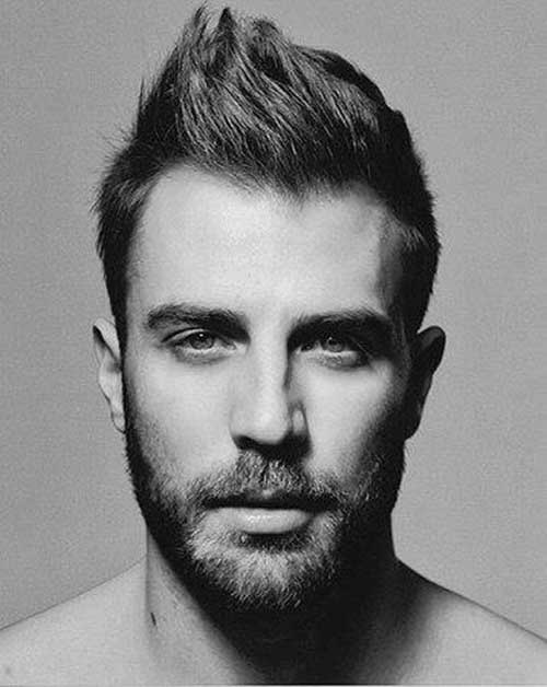 Mens Simple Short Hairstyles Photos