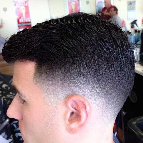 Mens Tapered Undercut Haircuts