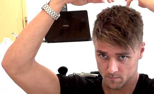 Mens Undercut Short Haircuts