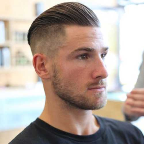 Mens Undercut Top Hair