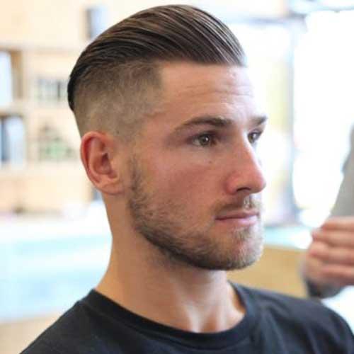 Mens Undercut Top Hair