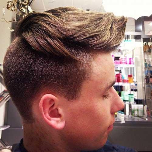 Most Popular Disconnected Haircut for Men