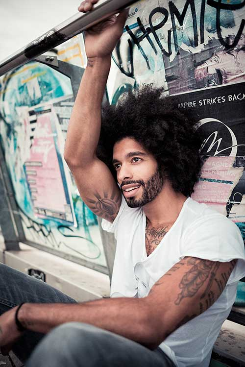 Natural Hair Trend 2015 for Men