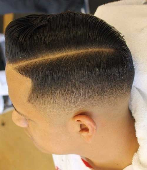 Nice Short Fade Cut Hairstyles for Guys
