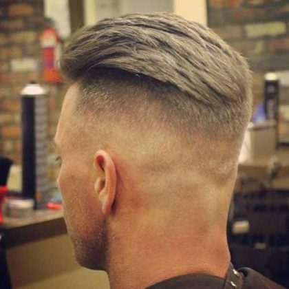 Как называется стрижка мужская с выбритыми боками