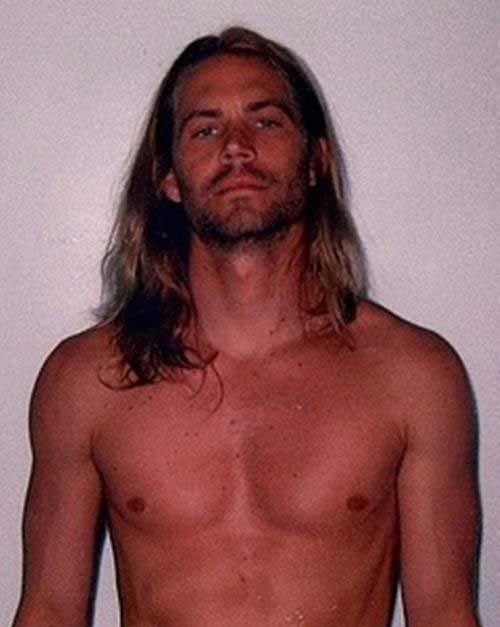 Paul Walker Long Hairstyles