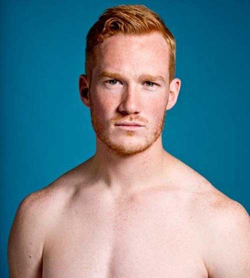 Pictures of Ginger Mens Short Haircuts