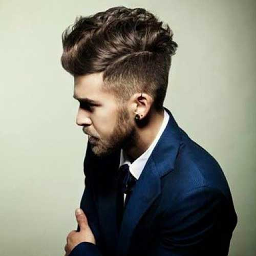 Most Popular Cool Men Hairstyles 2015