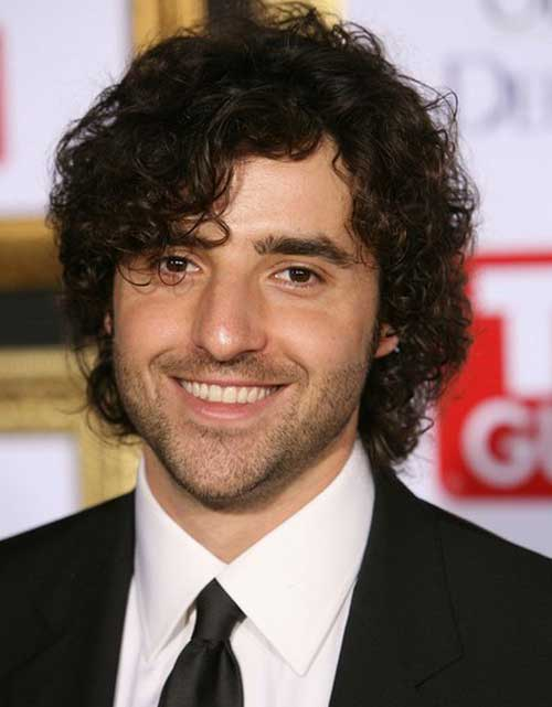 Best Shaggy Curly Hairstyles for Guys