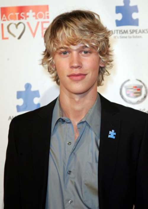 Shaggy Blonde Hairstyles for Men