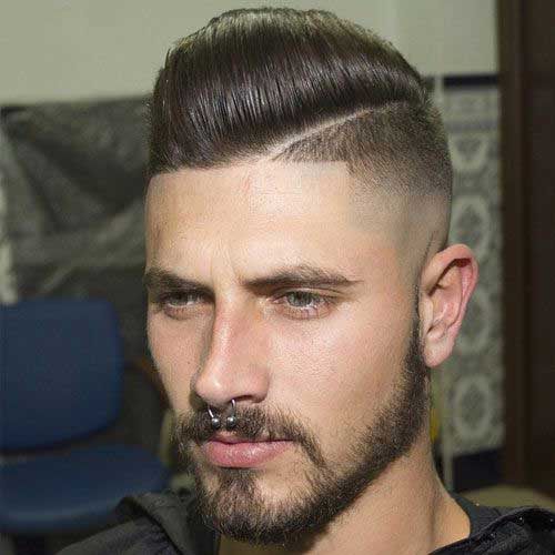 Shaved Unique Hairstyles for Men