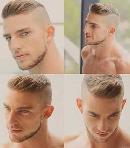 short back long front hairstyles : 10+ Mens Shaved Side Hairstyles Mens Hairstyles 2016