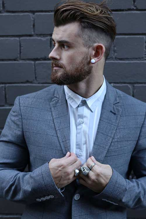 Shaved Side Mens Hairstyles 2016