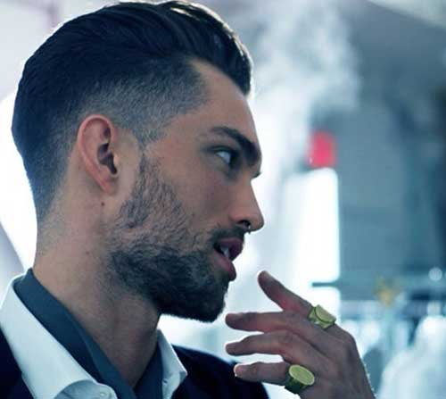 Shaved Side Undercuts Hairstyles for Men