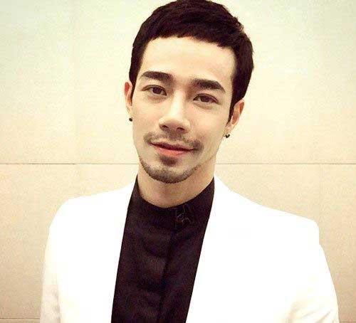 Trendy Short Asian Hairstyles for Men