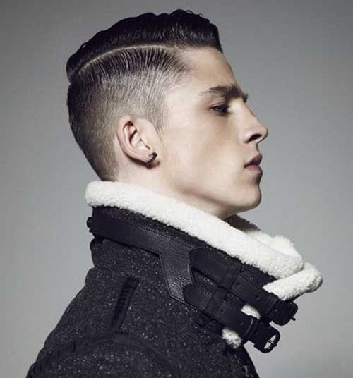 Trendy Short Faded Hair for Men