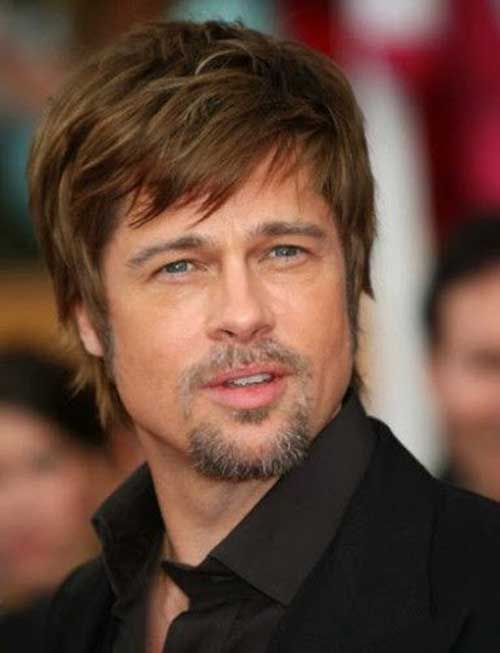 Lovely Celeb Short Shaggy Hairstyle For Men
