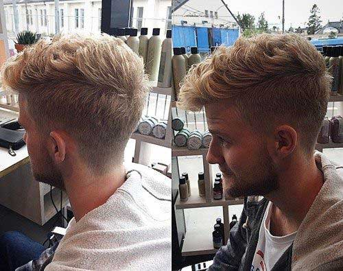 Mens Short Side Haircuts Back View