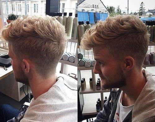 Mens Short Side Haircuts Back View