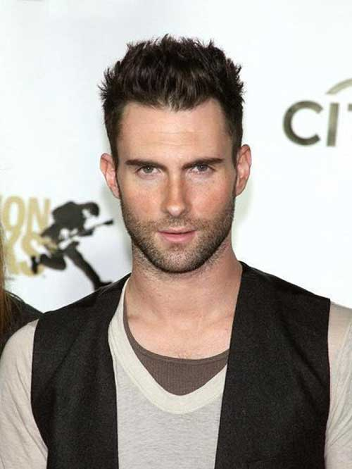Short Side Long Top Hairstyle for Men