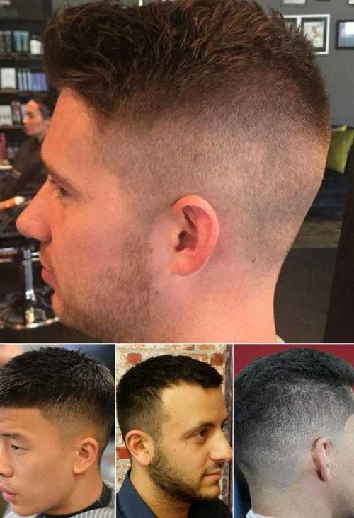 Trendy Short Side Shaved Haircuts for Men