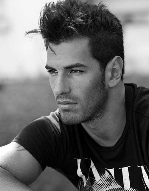 Short Spiky Hairstyle Pics for Men