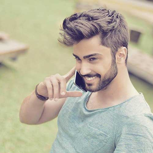 Simple Casual Hairstyle Men 2015