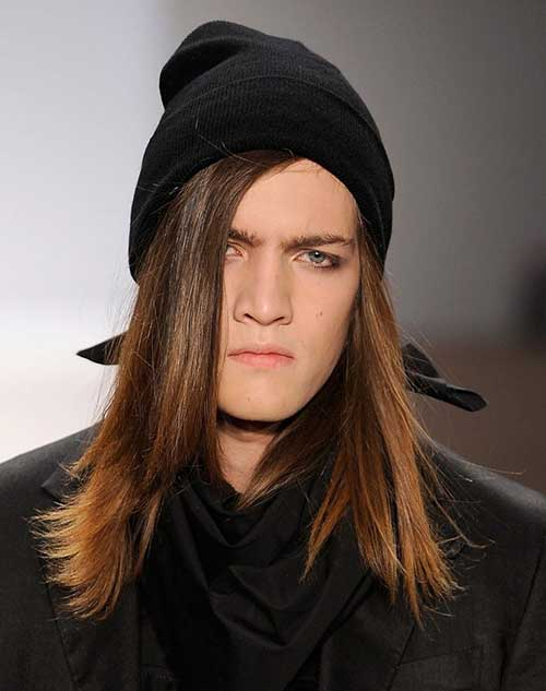 Best Straight Long Hairstyles for Guys